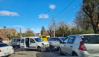 Ще одна потрійна ДТП у Чернівцях: на вулиці Щербанюка – великий затор