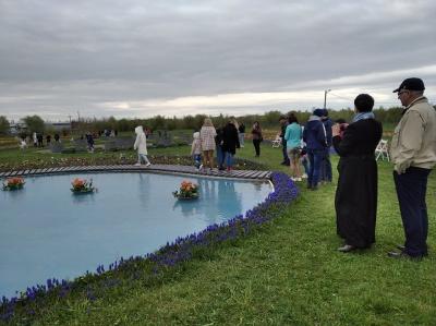Озеро з квітами та гойдалки: чим здивує тюльпанове поле на Буковині - фото