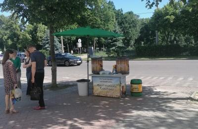 У Чернівцях визначили місця для продажу морозива та квасу