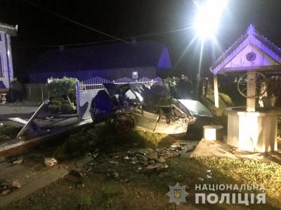 Смертельна аварія на Буковині: загинув 21-річний водій