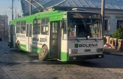 Стало відомо, скільки збитків отримало Чернівецьке тролейбусне управління через карантин