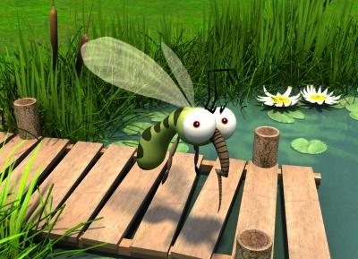 Анекдот дня: про комарів