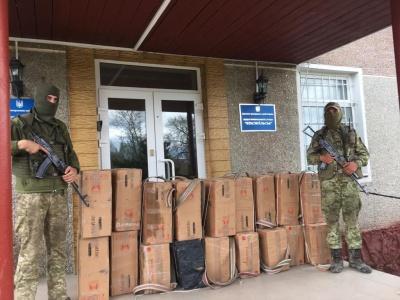 Стрілянина на кордоні: на Буковині контрабандисти залишили цигарок на 350 тис грн
