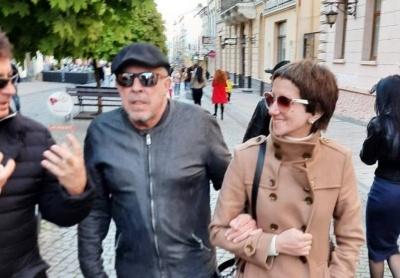 Легендарний Андрій Макаревич прибув до Чернівців – фото