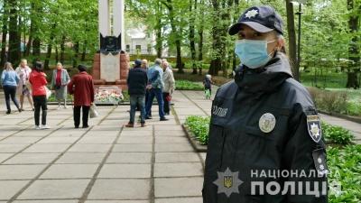 Конфліктів не було: поліцейські Буковини забезпечили правопорядок під час заходів, присвячених Дню перемоги