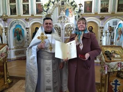 Відома волонтерка з Буковини отримала нагороду від Епіфанія