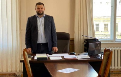 «Цілі зрозумілі, планка висока»: новий заступник голови Чернівецької ОДА приступив до роботи