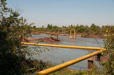 На Буковині через зруйнований повінню газопровід два села відключили від газу