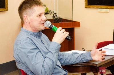 Чернівецький журналіст Юрій Чорней презентував свою книгу «Вернон Кресс. Життя під прикриттям»