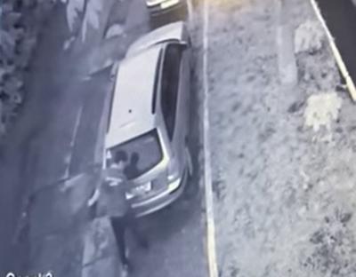 У Чернівцях серед білого дня чоловік викрадав номерні знаки з авто:  крадій потрапив на відео