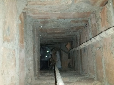 На Буковині врятували кота, який опинився у вентиляційній системі дев'ятиповерхівки