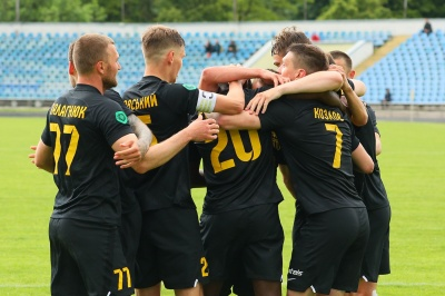 «Буковина» здобула перемогу в грі з командою «Оболонь-2»
