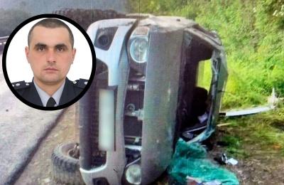 Перекинулось авто: що відомо про трагічну ДТП на Буковині, в якій загинув поліцейський